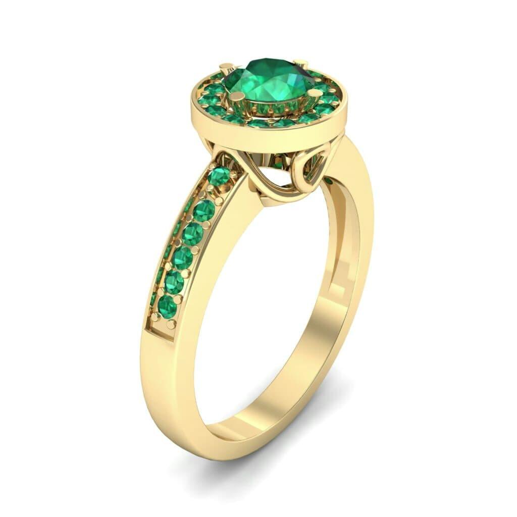 Ij002 Render 1 01 Camera1 Stone 1 Emerald 0 Floor 0 Metal 3 Yellow Gold 0 Emitter Aqua Light 0