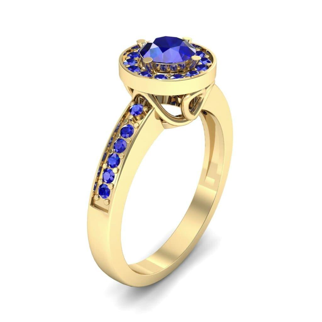 Ij002 Render 1 01 Camera1 Stone 3 Blue Sapphire 0 Floor 0 Metal 3 Yellow Gold 0 Emitter Aqua Light 0