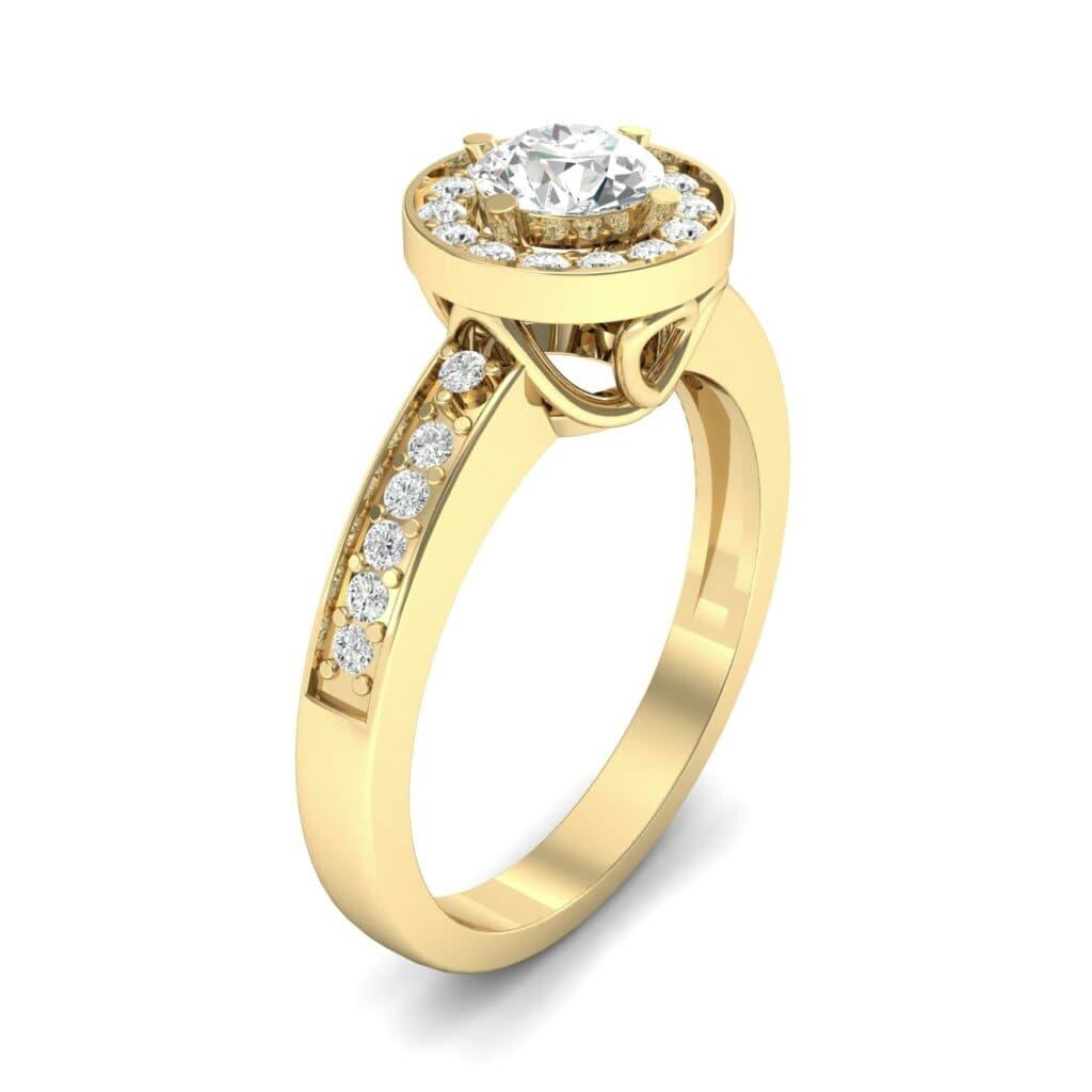 Ij002 Render 1 01 Camera1 Stone 4 Diamond 0 Floor 0 Metal 3 Yellow Gold 0 Emitter Aqua Light 0