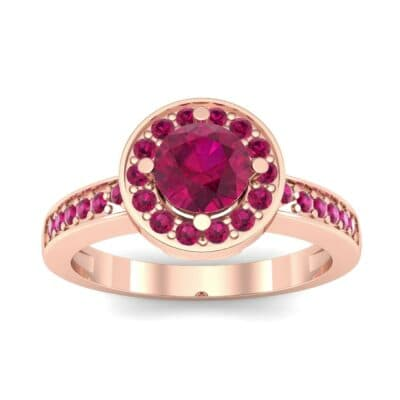 Ij002 Render 1 01 Camera2 Stone 2 Ruby 0 Floor 0 Metal 2 Rose Gold 0 Emitter Aqua Light 0