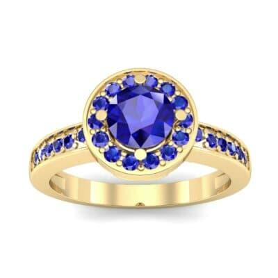 Ij002 Render 1 01 Camera2 Stone 3 Blue Sapphire 0 Floor 0 Metal 3 Yellow Gold 0 Emitter Aqua Light 0