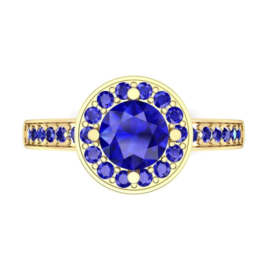 Ij002 Render 1 01 Camera4 Stone 3 Blue Sapphire 0 Floor 0 Metal 3 Yellow Gold 0 Emitter Aqua Light 0