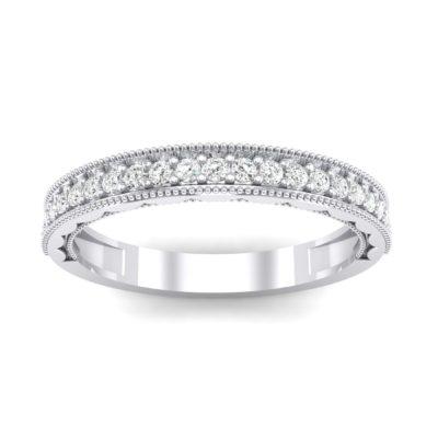 Pave Palazzo Crystal Ring (0.21 Carat)