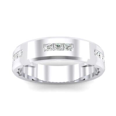 Demilune Threefold Crystal Ring (0.31 Carat)