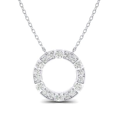 Cirque Crystal Pendant Necklace (1.98 CTW) Top Dynamic View