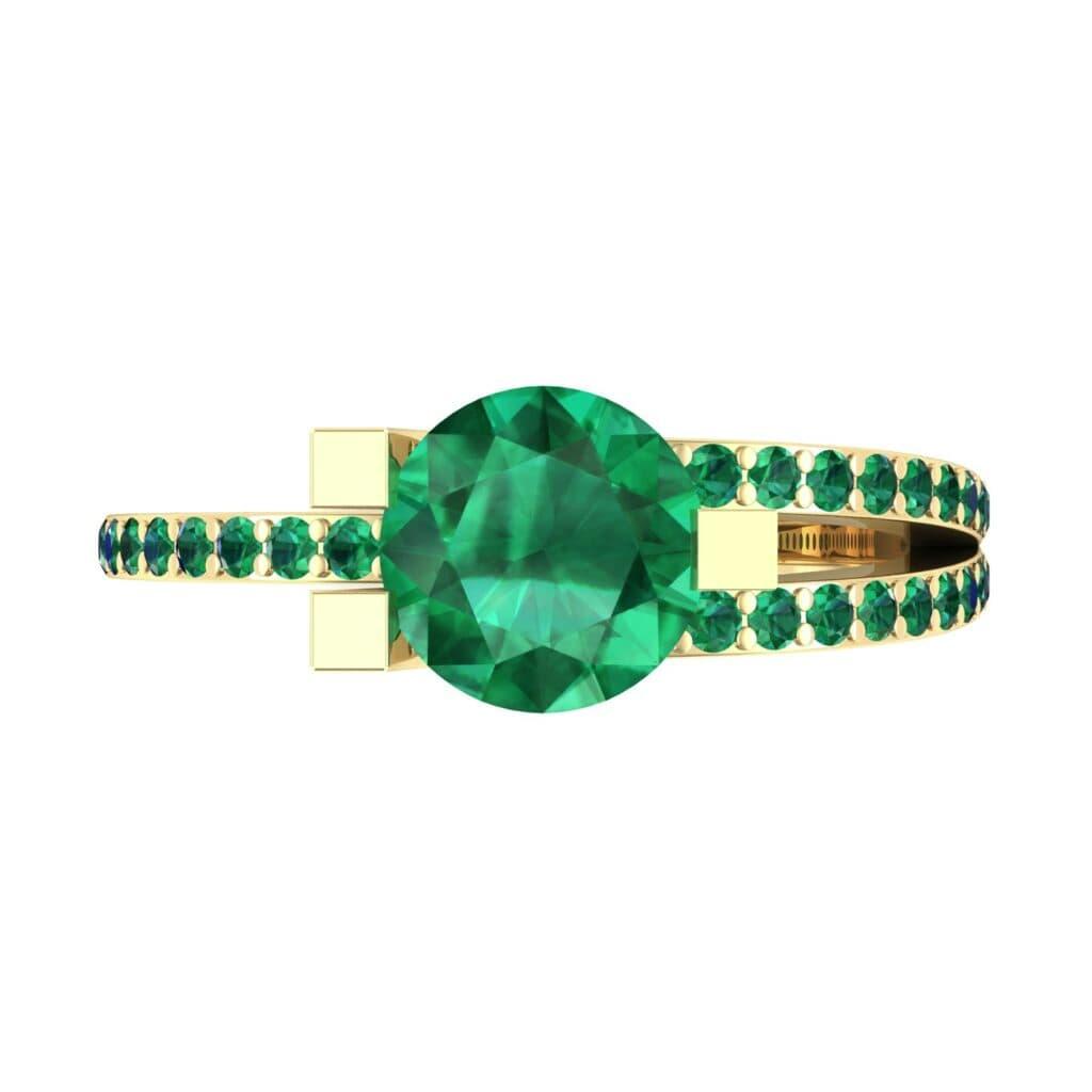 Ij008 Render 1 01 Camera4 Stone 1 Emerald 0 Floor 0 Metal 3 Yellow Gold 0 Emitter Aqua Light 0.jpg