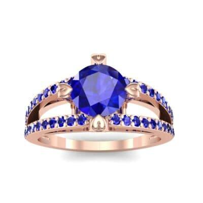 Ij011 Render 1 01 Camera2 Stone 3 Blue Sapphire 0 Floor 0 Metal 2 Rose Gold 0 Emitter Aqua Light 0.jpg
