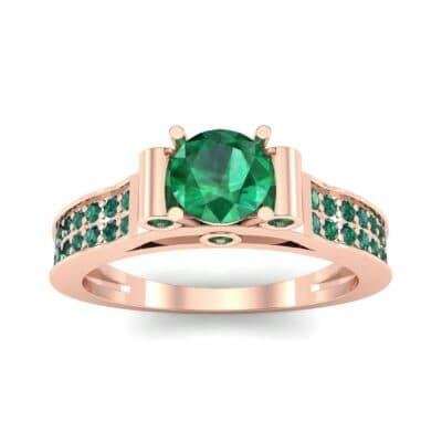 Ij013 Render 1 01 Camera2 Stone 1 Emerald 0 Floor 0 Metal 2 Rose Gold 0 Emitter Aqua Light 0.jpg
