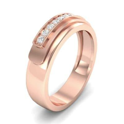 Dais Pave Diamond Ring (0.14 CTW)