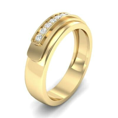 Dais Pave Diamond Ring (0.14 CTW)