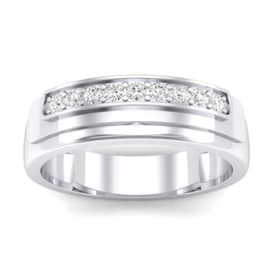 Dais Pave Diamond Ring (0.14 CTW) Top Dynamic View
