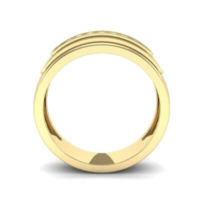 Dais Pave Diamond Ring (0.14 CTW) Side View