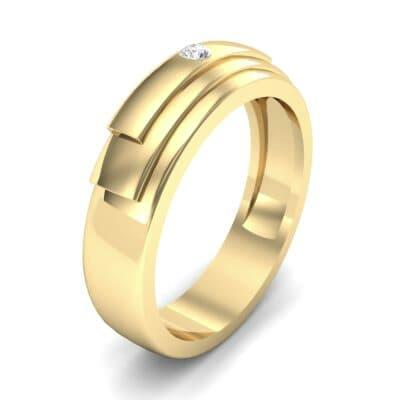 Dais Single Stone Diamond Ring (0.03 CTW)