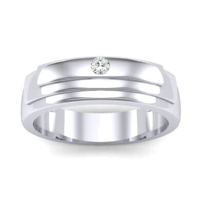 Dais Single Stone Diamond Ring (0.03 CTW) Top Dynamic View