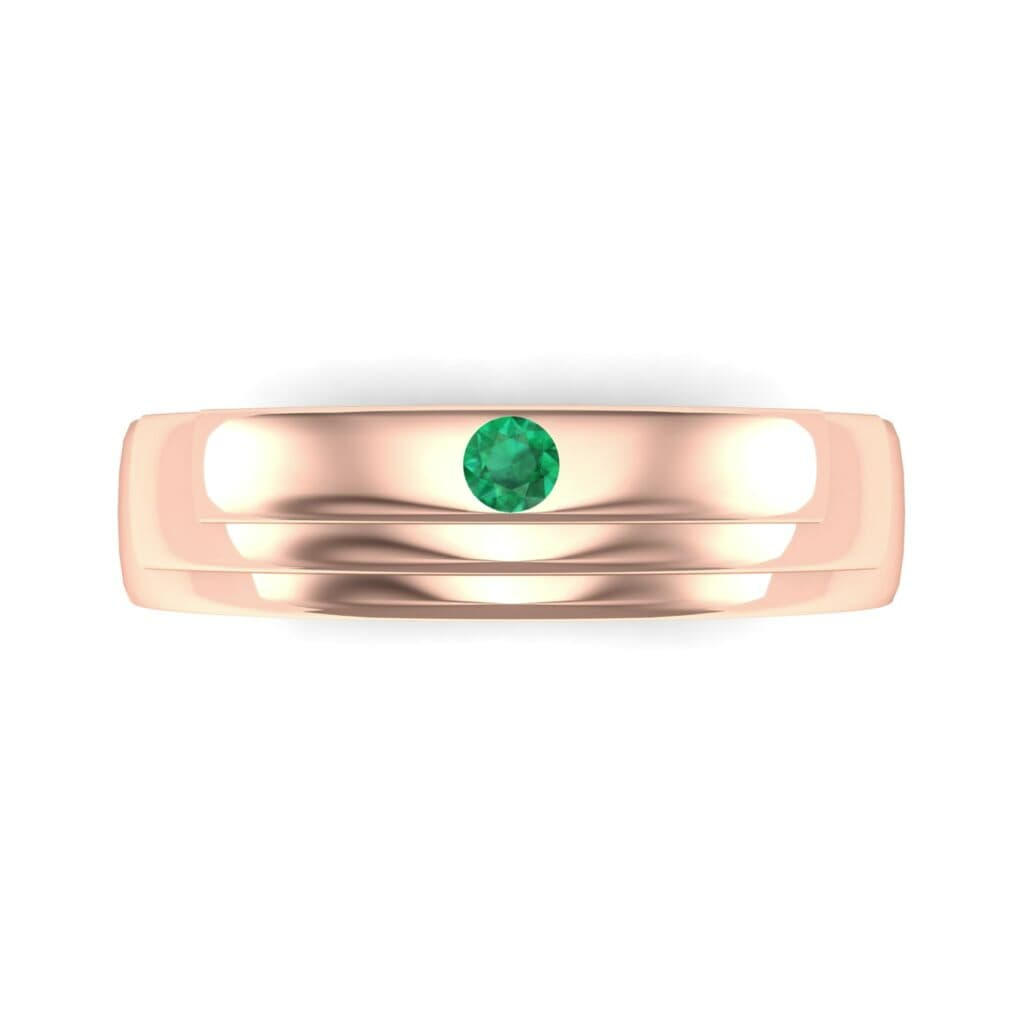 Ij018 Render 1 01 Camera4 Stone 1 Emerald 0 Floor 0 Metal 2 Rose Gold 0 Emitter Aqua Light 0.jpg