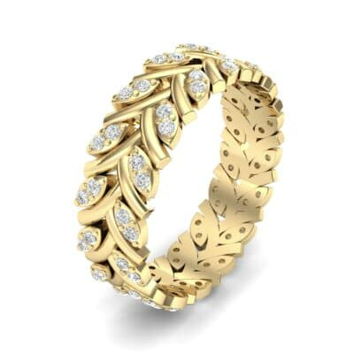 Marquise Twig Diamond Ring (0.39 CTW) Perspective View
