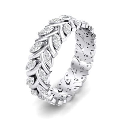 Marquise Twig Crystal Ring (0.39 CTW)