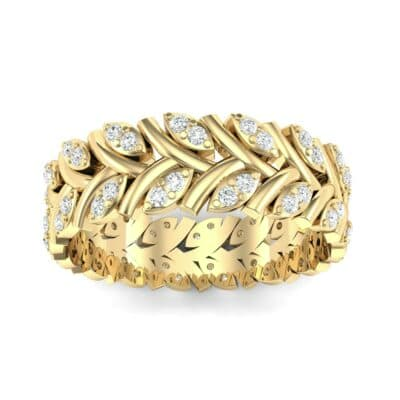 Marquise Twig Diamond Ring (0.39 CTW) Top Dynamic View