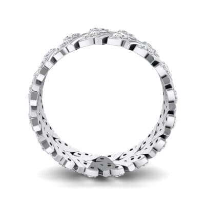 Marquise Twig Crystal Ring (0.39 CTW) Side View