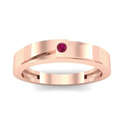Vault Solitaire Ruby Ring (0.02 CTW) Top Dynamic View