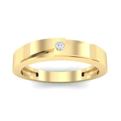 Vault Solitaire Diamond Ring (0.02 CTW) Top Dynamic View