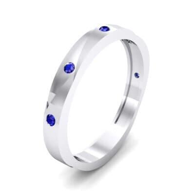 Vault Blue Sapphire Ring (0.08 CTW)