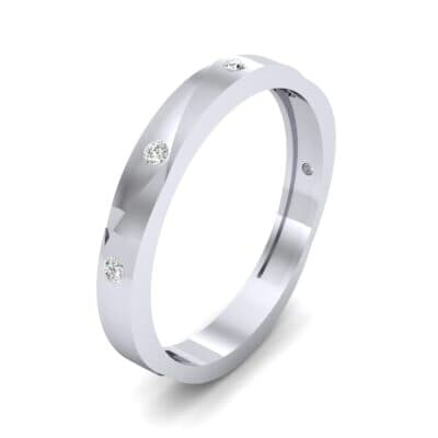 Vault Diamond Ring (0.08 CTW) Perspective View