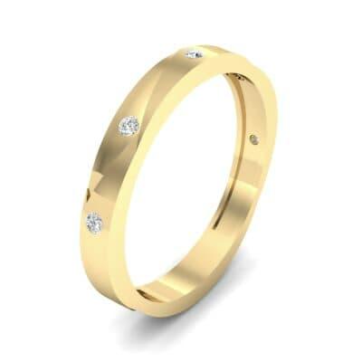 Vault Diamond Ring (0.08 CTW)