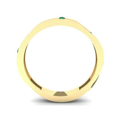 Vault Emerald Ring (0.08 CTW) Side View