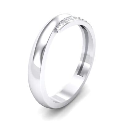 Caress Solitaire  Diamond Ring (0.07 CTW)