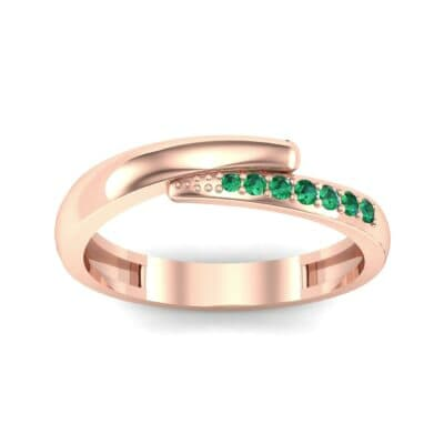 Ij033 Render 1 01 Camera2 Stone 1 Emerald 0 Floor 0 Metal 2 Rose Gold 0 Emitter Aqua Light 0