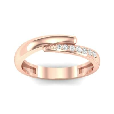 Caress Solitaire Diamond Ring (0.07 CTW) Top Dynamic View