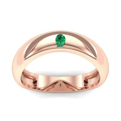 Ij034 Render 1 01 Camera2 Stone 1 Emerald 0 Floor 0 Metal 2 Rose Gold 0 Emitter Aqua Light 0