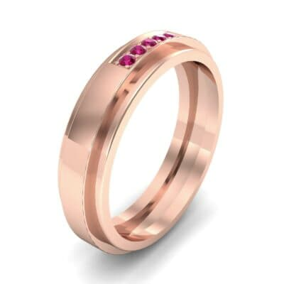 Avenue Solitaire Ruby Ring (0.08 CTW)