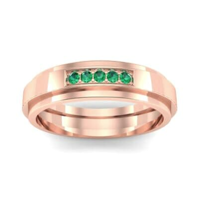 Ij038 Render 1 01 Camera2 Stone 1 Emerald 0 Floor 0 Metal 2 Rose Gold 0 Emitter Aqua Light 0