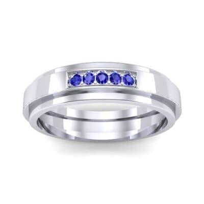 Ij038 Render 1 01 Camera2 Stone 3 Blue Sapphire 0 Floor 0 Metal 1 Platinum 0 Emitter Aqua Light 0