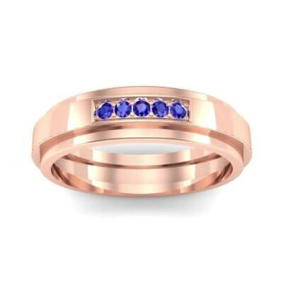 Ij038 Render 1 01 Camera2 Stone 3 Blue Sapphire 0 Floor 0 Metal 2 Rose Gold 0 Emitter Aqua Light 0