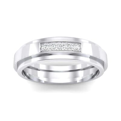 Avenue Solitaire Crystal Ring (0.08 CTW) Top Dynamic View