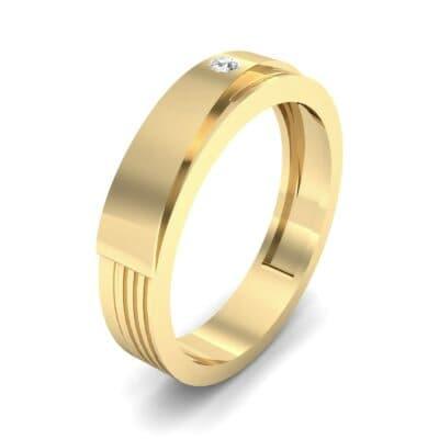 Asymmetrical Avenue Diamond Ring (0.03 CTW) Perspective View
