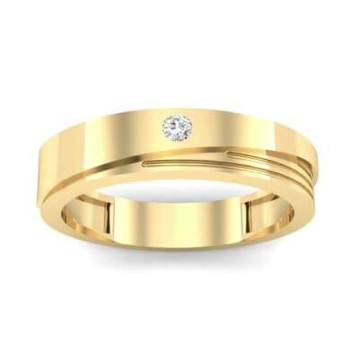 Asymmetrical Avenue Diamond Ring (0.03 CTW) Top Dynamic View