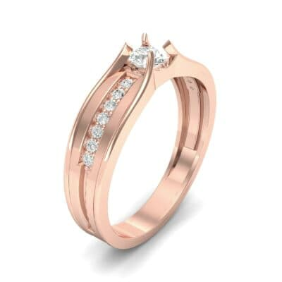 Centerpoint Diamond Engagement Ring (0.45 CTW)