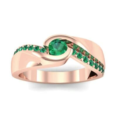 Ij048 Render 1 01 Camera2 Stone 1 Emerald 0 Floor 0 Metal 2 Rose Gold 0 Emitter Aqua Light 0