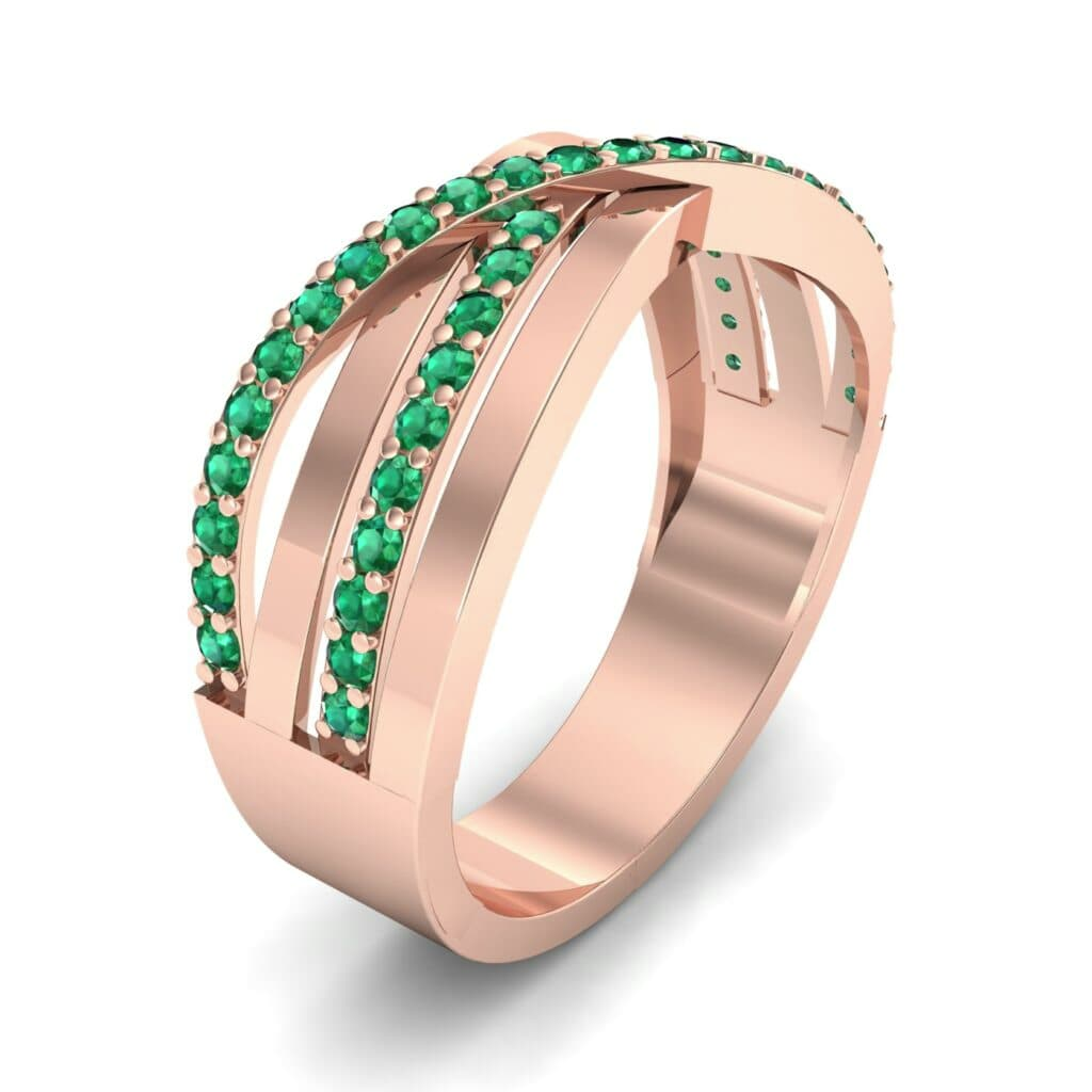 Ij049 Render 1 01 Camera1 Stone 1 Emerald 0 Floor 0 Metal 2 Rose Gold 0 Emitter Aqua Light 0