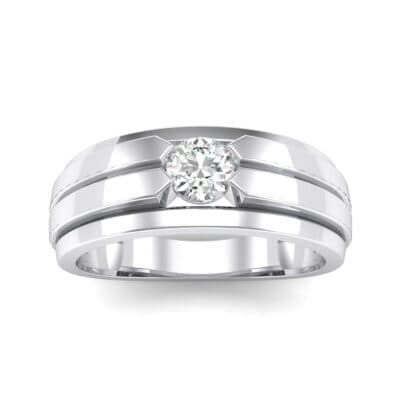 Elevation Solitaire Diamond Ring (0.32 CTW) Top Dynamic View