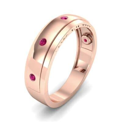 Sette Burnish Ruby Ring (0.07 CTW)