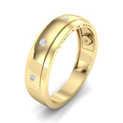 Sette Burnish Diamond Ring (0.07 CTW)