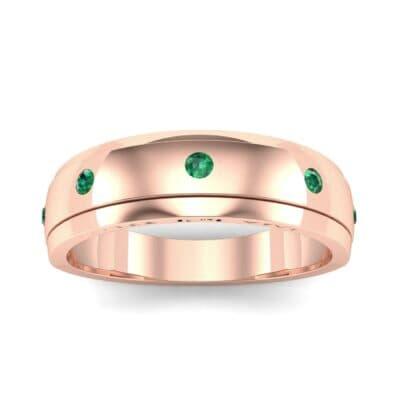 Ij053 Render 1 01 Camera2 Stone 1 Emerald 0 Floor 0 Metal 2 Rose Gold 0 Emitter Aqua Light 0
