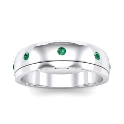 Ij053 Render 1 01 Camera2 Stone 1 Emerald 0 Floor 0 Metal 4 White Gold 0 Emitter Aqua Light 0