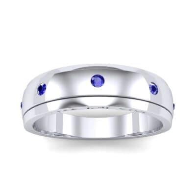 Ij053 Render 1 01 Camera2 Stone 3 Blue Sapphire 0 Floor 0 Metal 1 Platinum 0 Emitter Aqua Light 0
