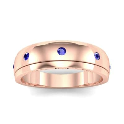Ij053 Render 1 01 Camera2 Stone 3 Blue Sapphire 0 Floor 0 Metal 2 Rose Gold 0 Emitter Aqua Light 0